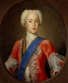 Antonio David (1698-1750) - Prince Charles Edward Stuart (1720-1788). Oil on Canvas. Circa 1732. 73.4cm x 60.3cm.