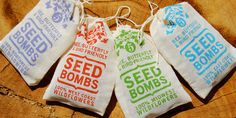 Grassroots efforts have taken the matter of declining bee, butterfly and bird populations in hand, cultivating an innovative solution to the issue: seed bombs.