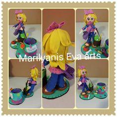 Fofucha maestra  handmade by Marilyanis Eva Arts