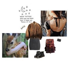 """""""into the woods"""" by papawine on Polyvore featuring Holga, Retrò, ZeroUV, WithChic and H&M"""