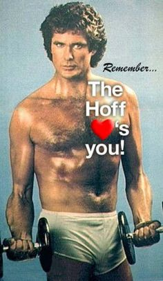 The Hoff loves you Baywatch, Kitt Knight Rider, Danny Devito, Insanity Workout, David, Susa, Funny Photos, Make Me Smile, I Laughed