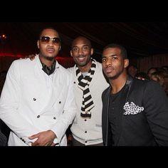 Carmelo Anthony, Kobe, ChrisPaul