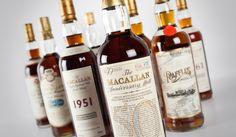 Luxury Whisky Rare Macallan Collection