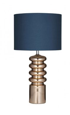 Priscilla Table Lamp Copper/Teal Pair - Table Lamps   Interiors Online - Furniture Online & Decorating Accessories