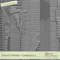 Texture Overlays - Cardboard 4 by #jilbert #theStudio #overlays #textures #digiscrap #cu