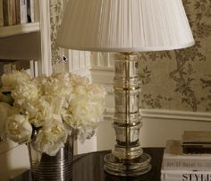 Ralph Lauren Lighting   RL Helena Table in Crystal and Natural Brass www.PacificHeightsPlace.com