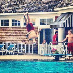 #Dive #Flip #Summer #PortWashington #LongIsland #pool #myruleofthirds
