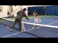 Beginner Tennis Lesson - Coordination and Ball Control
