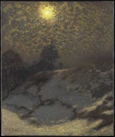 "J.E.H. MacDonald (Canadian, 1873 - 1932) ""Early Evening, Winter"", 1912"