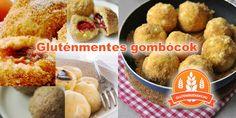 gluténmentes gombóc receptek