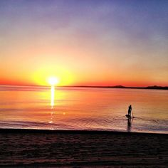 Sunrise SUP time  (at La Ventana, Mexico)  This may be the time to give it a try!