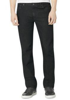 Calvin Klein Jeans Tinted Rinse Slim Straight Tinted Rinse Denim Jeans