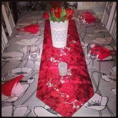 #yulefood #yuledinner #yuledecoration #yule2015 #jouluruat #joulu2015 #jouluaatto 24.12.2015 #marimekko #lumimarja #serviette #servetti #Finlayson #pöytäliina #lapland #Finland