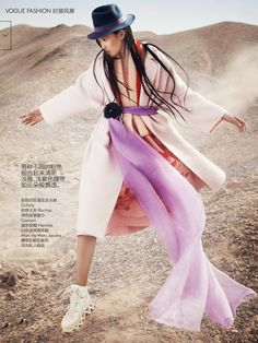 Photographed by Trunk Xu for Vogue China