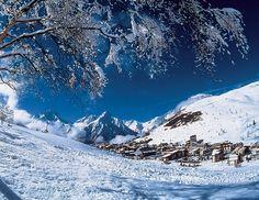 Les Deux Alpes Ski Resort, France