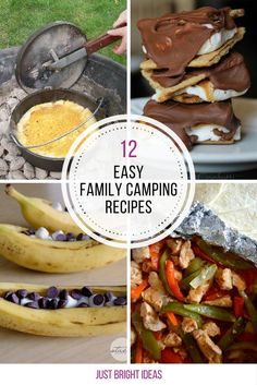12 Easy Family Camping Recipes You Need To Try