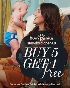 Buy 5, Get 1 Free on bumGenius 4.0 I love it when they run this deal! Will have to take advantage before it's over...