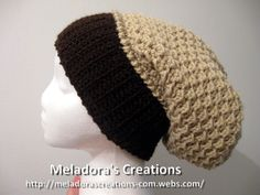 Turn any Beanie pattern into a slouch hat! Added information on how to do that to the Moss stitch Beanie!