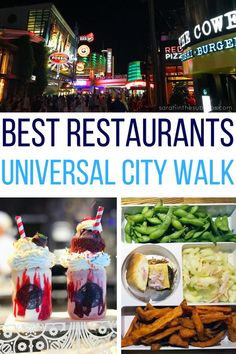 Universal Orlando is a fantastic destination for travelers. Some of the best Orlando restaurants are located right outside the park gates at City Walk. I've tried them! Take a look and see why I think these are the best Universal City Walk Orlando, Orlando City, Orlando Travel, Visit Orlando, Orlando Vacation, Florida Vacation, Disney World Vacation, Florida Travel, Orlando Disney