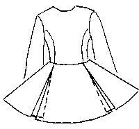 Dance Dress Pattern