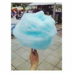 I love Cotten candy! If I could eat it everyday, I would. I love the way it melts in my mouth, and the sweet taste.