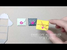 Waffle Flower DEMO - Little Gifts 3D Die + Little Gifts Alpha Stamp Set - YouTube
