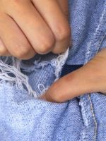 How To Keep Your Ripped Jeans From Ripping MORE #refinery29