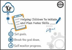 3 Strategies to Help Children Initiate and Plan Motor Skills - Your Therapy Source Child Plan, Test Taking Skills, Motor Planning, Self Monitoring, Pediatric Occupational Therapy, Executive Functioning, Helping Children, Speech And Language, Social Skills