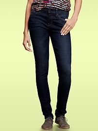 My favorite jeans are Gap jeans. I own five of the  Always Skinny in different washes & colors! Super comfortable and you can dress them down or dress them up. It all depends on the shoes:)