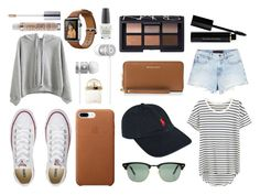 """MY Everyday"" by keira-mcdonald on Polyvore featuring Splendid, Alexander Wang, Converse, WithChic, Polo Ralph Lauren, Ray-Ban, Beats by Dr. Dre, MICHAEL Michael Kors, NARS Cosmetics and Chloé"