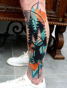 45 Gorgeous Ankle Flower Tattoo You Can't Miss This Summer – Page 28 – Kornelia Nowak 45 Gorgeous Ankle Flower Tattoo You Can't Miss This Summer – Page 28 – Kor. Artistic charm coudpay tattoos 45 Gorgeous Ankle Flower Tattoo You Can't Miss This S Calf Tattoo Men, 4 Tattoo, Deer Tattoo, Forearm Tattoos, Get A Tattoo, Body Art Tattoos, Sleeve Tattoos, Calf Sleeve Tattoo, Calf Tattoos For Women