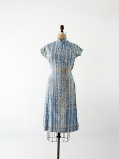 vintage cheongsam dress - 86 Vintage