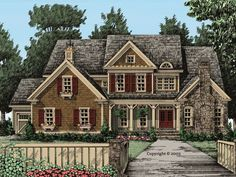 086H-0046: Luxury House Plan with Stunning Master Suite