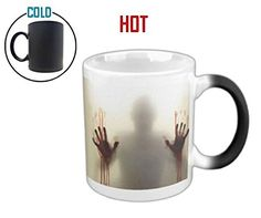 Walker Heat Colour Changing Horrible Halloween Blood Zombie Coffee Mug Black Ceramic Tea Mug *** Be sure to check out this awesome product.Note:It is affiliate link to Amazon.