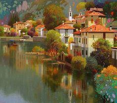 приглашаю в сказочную страну живописца Pedro Roldán Molina!