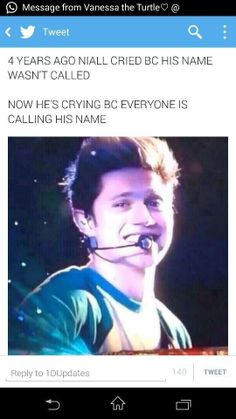 Awww it's ok baby boy. You're my everything and I love you so much. I wish you could know that