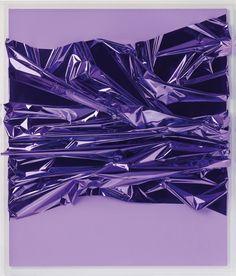 ANSELM REYLE | Untitled, 2005 | Mixed media on canvas, acrylic glass