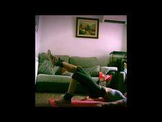Glúteos y piernas en casa - YouTube
