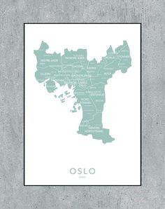 Oslo kontur - mint