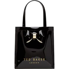 8fbd791b515a Buy Black Ted Baker Didicon Small Icon Shopper Bag from our Handbags