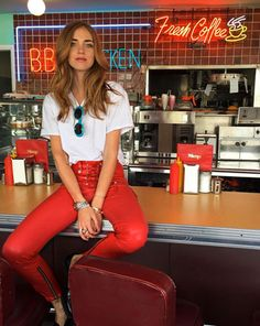 Chiara Ferragni #coffee