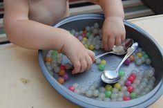 tapioca pearls for sensory play
