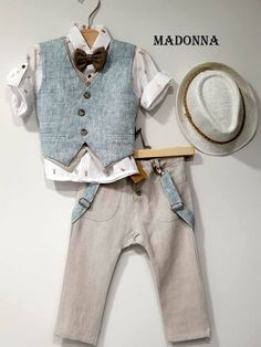 Kids Suits, Baby Boy Outfits, Must Haves, Children Clothes, Madonna, Boys, Pants, Dresses, Style