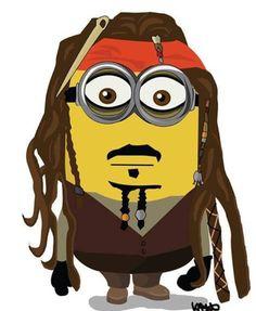 Jack Sparrow Minion