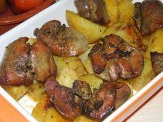 Sütőben sült fokhagymás fűszeres máj burgonyával! Mámorító és olcsó fogás! - Ketkes.com