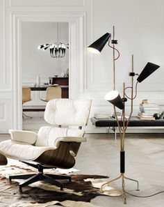 #luxuryhomes #modernlamps #livingroomideas Read more at: http://losangeleshomes.eu/home-in-la/top-15-modern-floor-lamps-for-the-la-homes/