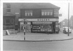Rogers corner of Stockton Rd/Oxford St, 1962.