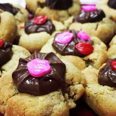 Valentines Peanut Butter Blossoms are so tasty they might even get you a kiss