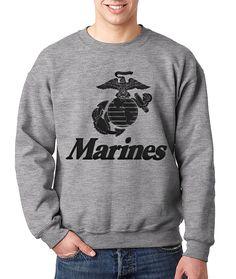 US Army 1st Signal Brigade Veteran Mens Pullover Hoodie Sweatshirt Long Sleeve Sweater Crew Neck Fine Long Sleeve Slim Fit