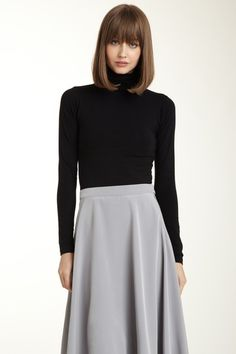 uniform. turtlenecks are definitely going to be my friend in 25 years.